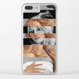 "Botticelli's ""Venus"" & Brigitte Bardot Clear iPhone Case"