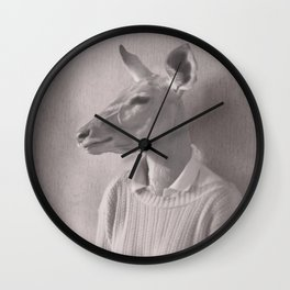 Lady impala Wall Clock