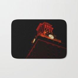 UT Tower At Night Bath Mat