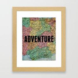 Adventure Print Framed Art Print