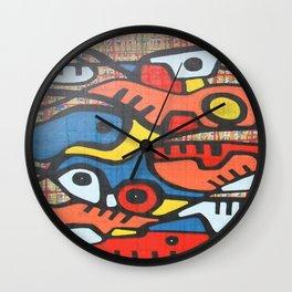 CAMINOS Y MONTAÑAS Wall Clock