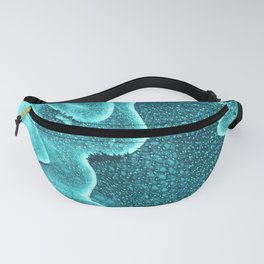 Underwater Topographic Trash Texture Fanny Pack