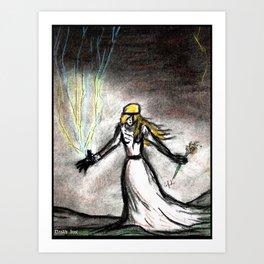 The High Priestess Art Print