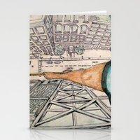 vertigo Stationery Cards featuring Vertigo by Rene Robinson
