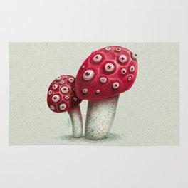 Mushroom Amanita Rug