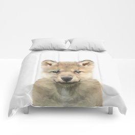 Baby Wolf Comforters