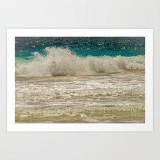 SEA CREST Art Print