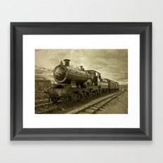 City of Truro  Framed Art Print