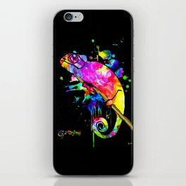 Chameleon Splash iPhone Skin