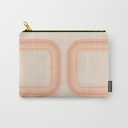 Tangerine Tunnel Carry-All Pouch