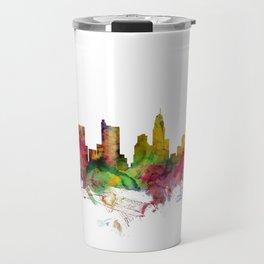 Columbus Ohio Skyline Travel Mug