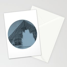 Louvre Fountain Stationery Cards