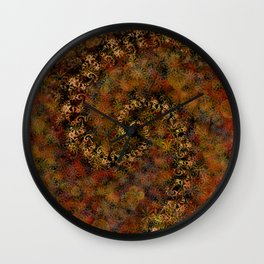 From Infinity - Autumn Wall Clock