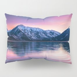 Sunset over twin lakes Pillow Sham