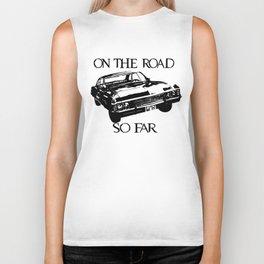 On the road so far  Biker Tank