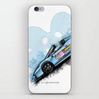 deadmau5 iPhone & iPod Skins featuring Deadmau5's Purrari 458 Spider by an.artwrok