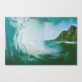 Pixel Sort composition Canvas Print