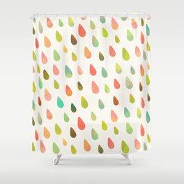 OPAL DROPS Shower Curtain