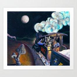 Casey Jones Art Print