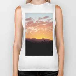 Bright Sunset Biker Tank