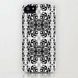 JES' PUZZLED FACE iPhone Case