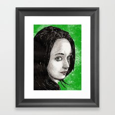Sera Framed Art Print