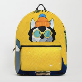 Wolf with the gift Backpack