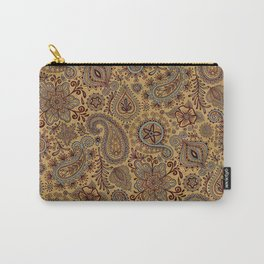 Cosmic Paisley Henna Carry-All Pouch