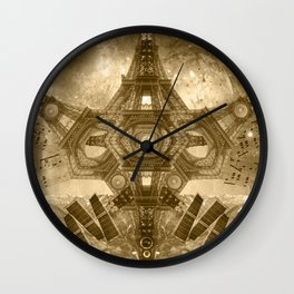 """Outsteller Exploration of Interspace"", by Brock Springstead Wall Clock"