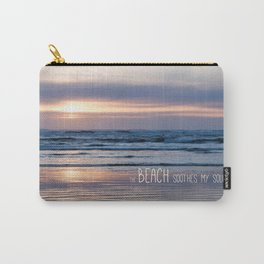 Beach Glow Soothes Soul Carry-All Pouch