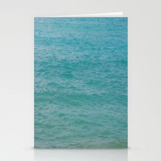 Maui: Aqua Stationery Cards