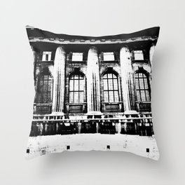 The Shifting Museum / Berlin Throw Pillow