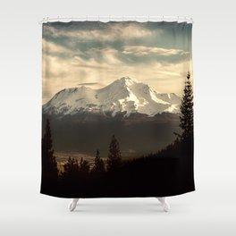 Mount Shasta Waking Up Shower Curtain