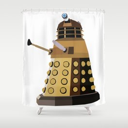 Dalek Shower Curtain
