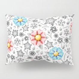 Millefiori Monotone Pillow Sham