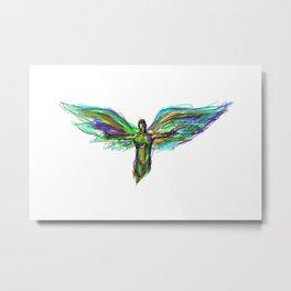 Color Angel Metal Print