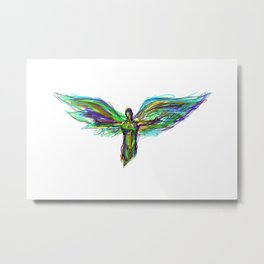 Color Angel Metal Print