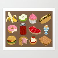 food Art Prints featuring Food by John Holcroft