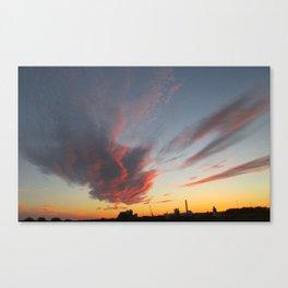 Scandinavian Sunsets - Ystad Canvas Print
