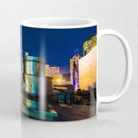 metallic Mugs featuring Metallic by Sonic Highlark