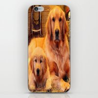 mom iPhone & iPod Skins featuring Mom by Robin Curtiss