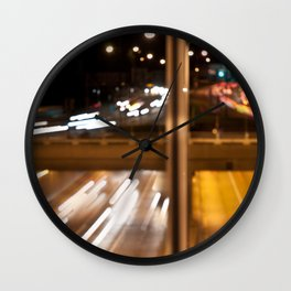 Motion Bridge Wall Clock