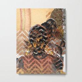 ORANGE ARTWORK Metal Print