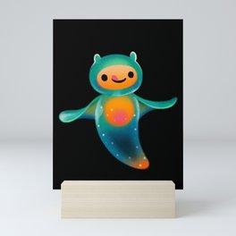 Sea angel & sea butterfly Mini Art Print