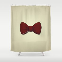 bowties are cool. Shower Curtain