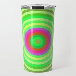 Retro Radial Travel Mug