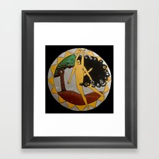 Kali Dancing Framed Art Print