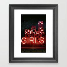 girls night ;) Framed Art Print