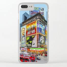 Times Square III Special Edition I Clear iPhone Case