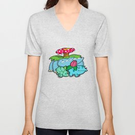 Pokémon - Number 1, 2 & 3 Unisex V-Neck